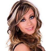 Контрастное мелирование волос фото