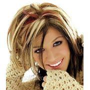 Американское мелирование волос фото