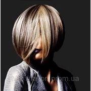 Диагональное мелирование волос фото