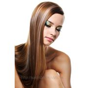 Сложное окрашивание волос (с использованием двух или более цветов)с мытьем патентованными препаратами свыше 40 см фото