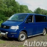 Заказ и аренда микроавтобусов Volkswagen Transporter T5, 7 мест фото