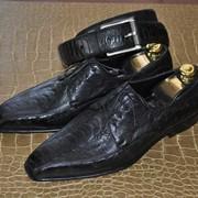 Туфли мужские. Пошив эксклюзивной обуви. фото