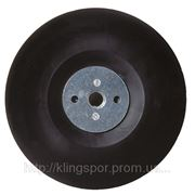 Опорный диск с крепежной гайкой для фибровых и бумажных кругов ST 358 фото