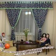 Комплект штор для детской комнаты Артикул: ШД- обр. 67 (портьеры- 2 шт, ламбрекен + подхваты)