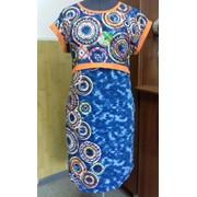 Платье женское - хлопчатобумажный фото