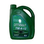 Масла трансмиссионные высокого давления от производителя компания Нефтепродукт. Трансмиссионное масло Оптимал ТМ-4-12. фото