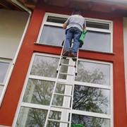 Мойка окон в квартире (1 окно 2 створки) с 2-х сторон фото