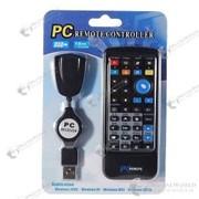 Мультимедийный IR пульт управления с USB получателем для компьютера фото