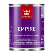 Краска для мебели Empire Tikkurila алкидная , база А 0,9 л фото