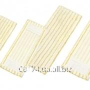 Моп плоский с карманами для швабры, полосатый, для мытья неровных покрытий, 50 см. SPLAST MW.15 фото