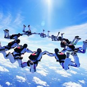 Прыжки с парашютом в Казахстане фото