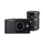 Фотоаппарат Olympus E-PL3 Double Zoom Kit black/black (V20503CBE000) фото