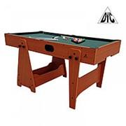 Игровой стол DFC KICK [[MY_OWN_QUOTE]]2 в 1[[MY_OWN_QUOTE]] бильярд/аэрохоккей HM-GT-60301 фото