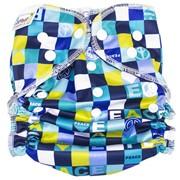 Многоразовый подгузник GlorYes! для плавания Мозаика 3-18 кг фото