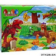 Конструктор пластиковый для малышей динозавры 21-3392 фото