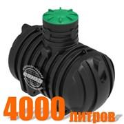 Подземный резервуар РПУ-4000 (пластиковый) фото