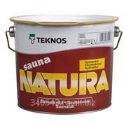 Антисептик Teknos Sauna Natura 9 л фото