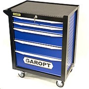 Garopt GT9505.blue – тележка инструментальная 5 ящиков фото