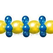 Гирлянда из воздушных шаров Тет-А-Тет фото