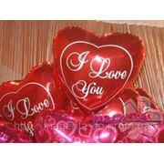 Сердца из шаров на 14февраля, день святого Валентина, день всех влюбленных фото