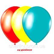 """Гелиевые шарики 14"""" (35см) фото"""