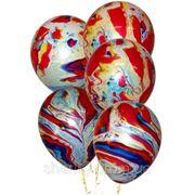 """Гелиевые шарики - Разноцветный 14"""" (30см) фото"""