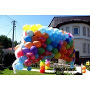 Запуск воздушных шаров. фото