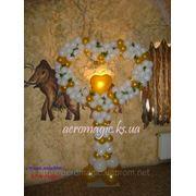 Оформление воздушными шарами свадеб в Херсоне