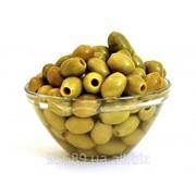 Крупные бочковые оливки Халкидики (Halkidiki) без косточки 71-90 фото