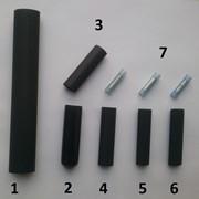 Комплект термоусадочных муфт для пищевого кабеля фото
