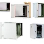 Настенные телекоммуникационные шкафы фото