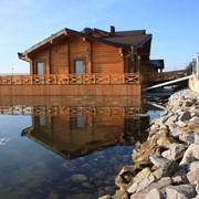 Деревянные плавучие дома фото