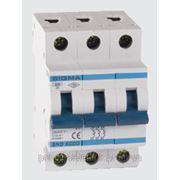 Автоматический выключатель автомат 20 А ампер цена трехфазный трехполюсный В B характеристика фото