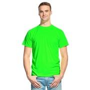 Мужская спортивная футболка StanPrint 30 Ярко-зеленый неон XXL/54 фото