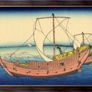 Картина Kazusa, Кацусика, Хокусай фото