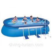 Бассейн Intex 54432 Oval Frame Pool фото