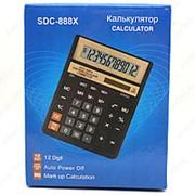 Электронный калькулятор SDC-888X 12 разрядный фото