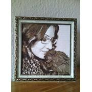 Вышиваю Портреты мулине, бисером. фото