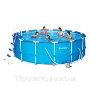 Круглый каркасный бассейн 56100, BestWay, (457х122см.) фото