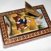Эксклюзивная подставка для ручек с персидской инкрустацией «хатамкари» фото