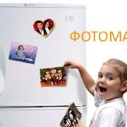 Фотомагнит на холодильник фото