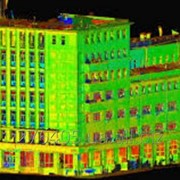 3D лазерное сканирование фасадов фото