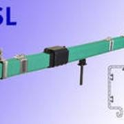 Токоподвод мостового крана, Троллейный токоподвод фото