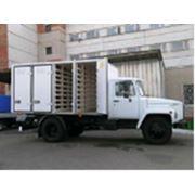 Автофургон для перевозки хлеба на базе шасси ГАЗ 3307 фото