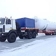 Перевозка негабаритных грузов, услуги и аренда трала. фото