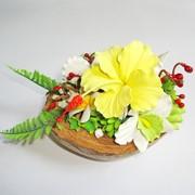 Мы научим Вас создавать своими руками необыкновенные цветы из глины. фото