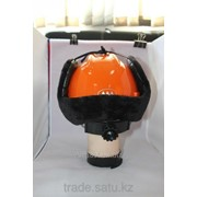 Шапка-ушанка с креплениями под каску фото