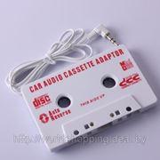 Кассета адаптер для подключения iPod/MP3/CD Player. фото