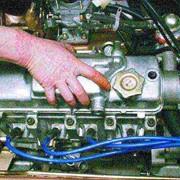 Промывка деталей рулевого механизма фото