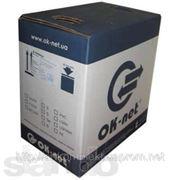 КПВ-ВП 4х2х0,5, кабель UTP, Кат. 5e, ПВХ, білий, коробка (305м) фото